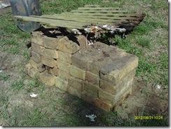 Some of my buried treasure.  Eureka!  Gold bricks!